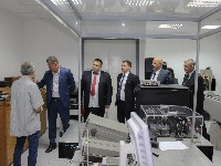 Minister of Economy Goran Knežević visited the Directorate for Measures and Precious Metals with his associates